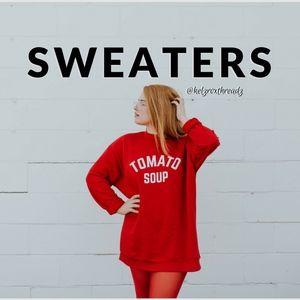 Sweaters - SWEATERS Available @KelzRoxThreadz #KRTKloset